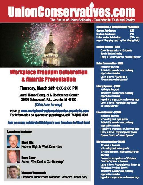 UnionConservatives.com 3-28 Event