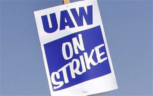 uaw-picket-sign